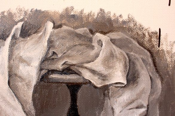 Bacco Artolini painting Gravità touchscreen detail 22018