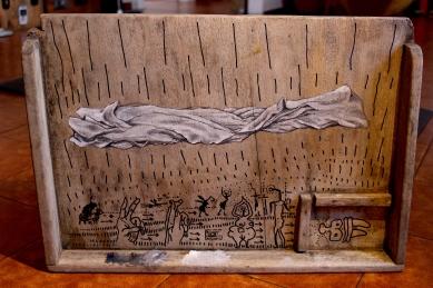 Bacco Artolini obsolescenza dipinto painting oil