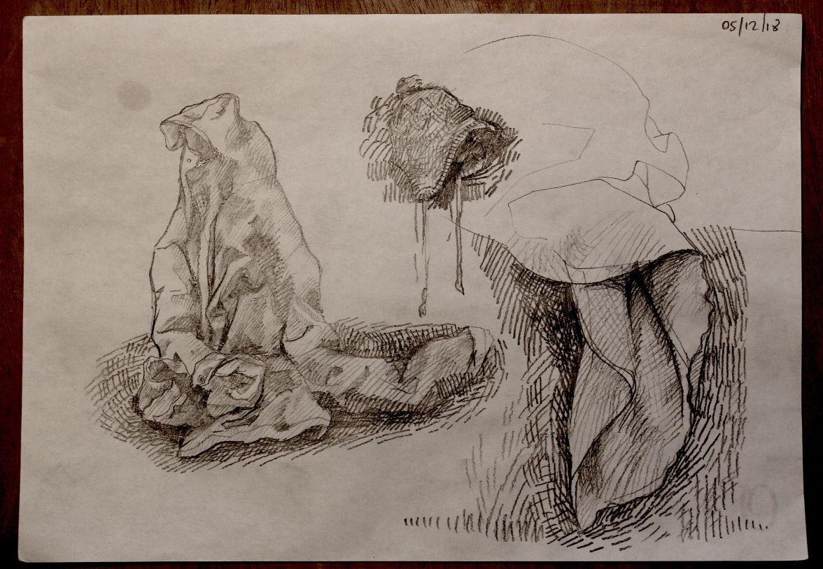 sketch studio 1 Bacco Artolini artist Ravenna