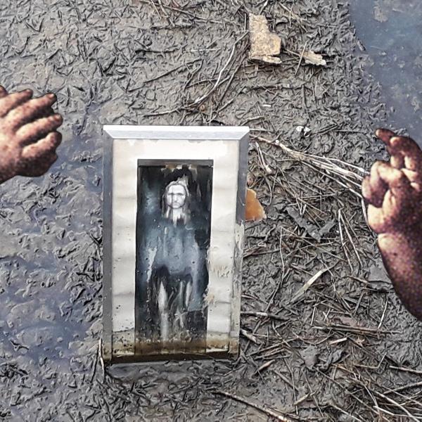 Street art Bacco Artolini Leonardo da Vinci unknown installation