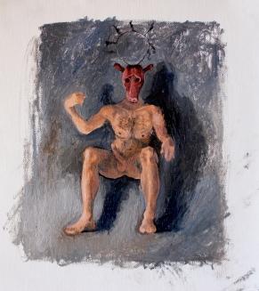 Bacco Artolini oil painting Universe