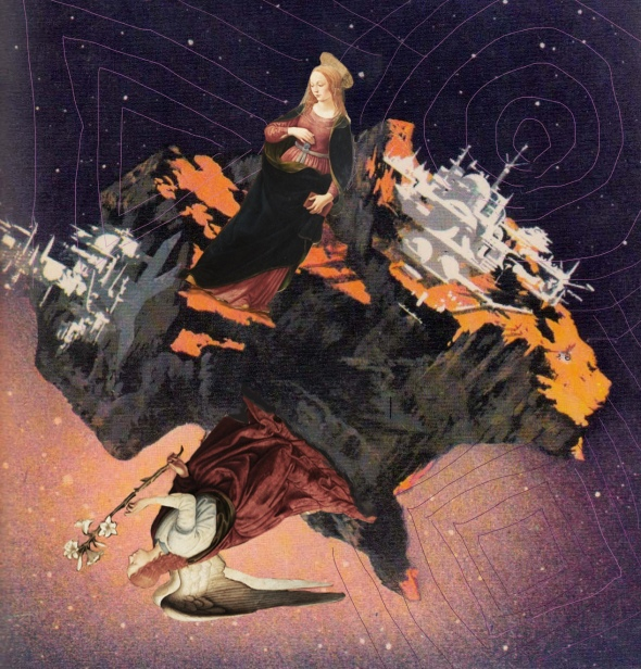 Bacco Artolini Karel Thole Asimov art Il crollo della Galassia centrale