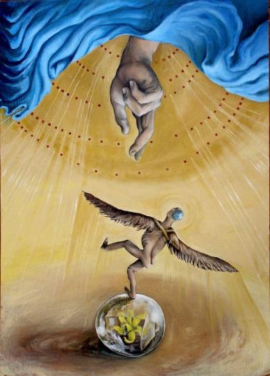 Bacco Artolini Sophia Leonardo Ravenna painting dipinto