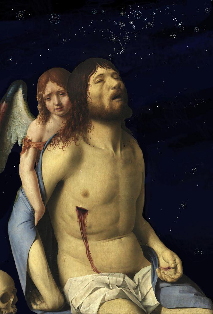 Antonello da Messina- Cristo in pietà e un angelo (1476 circa)